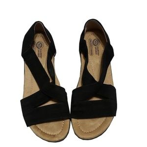 Earth Spirit Black sandals